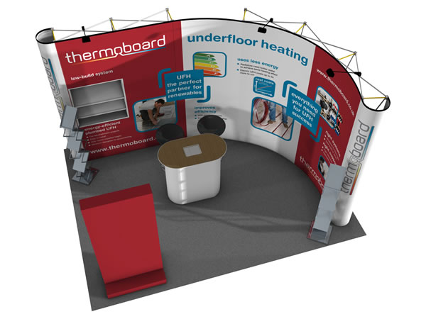 Outdoor Exhibition Stand Hire : Exhibition stand hire from warrens display