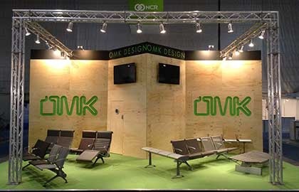 Exhibition Stand Reception : Exhibition specialists warrens display reusability